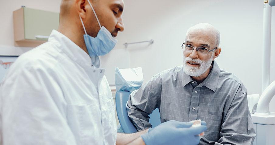 Få nya tänder med implantat